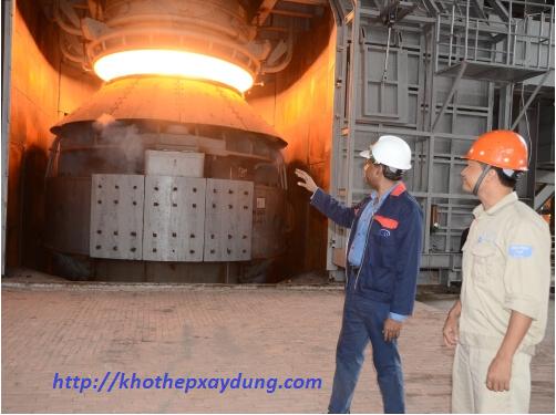 công nghệ lò cao trong sản xuất thép hòa phát