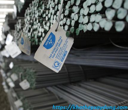 Cập nhật bảng báo giá sắt thép xây dựng tại Bạc Liêu