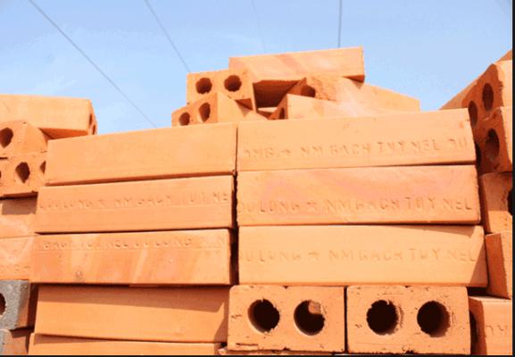 Gạch xây dựng đặc Tuynel 2 lỗ