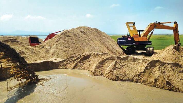 Cần chú ý sử dụng cát sạch trong xây dựng