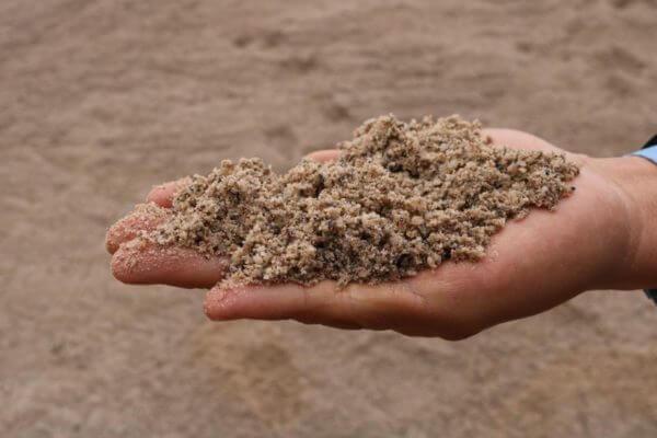 Cần chú ý sử dụng đúng loại cát trong xây dựng nói chung