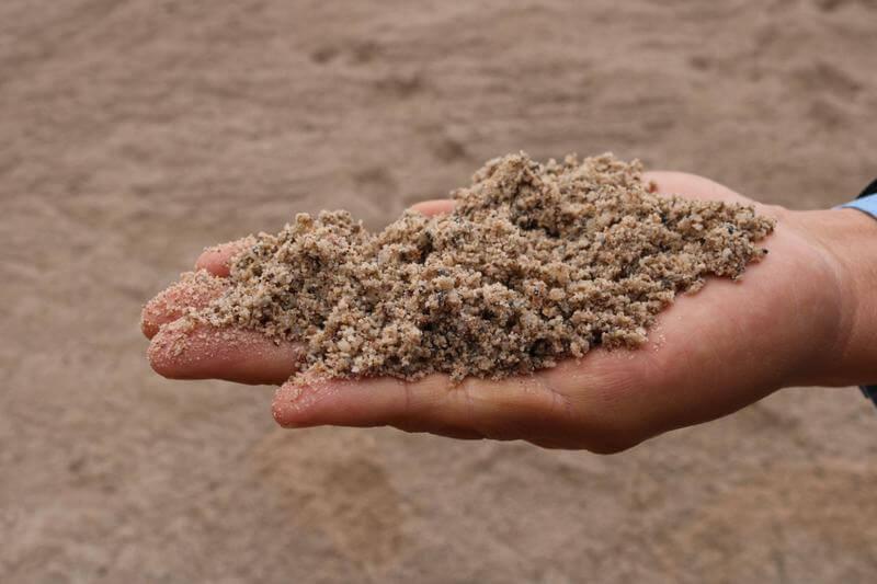 Cát xây dựng - Cách phân biệt cát xây và cát bê tông