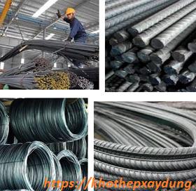 Bảng báo giá sắt thép xây dựng tại Phú Yên