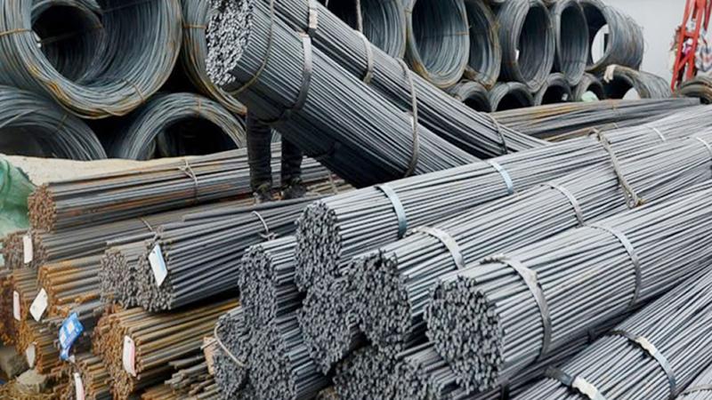 sắt thép được vận chuyển bởi công ty kho thép xây dựng