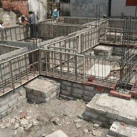 Nhà 5 tầng nên xây móng gì