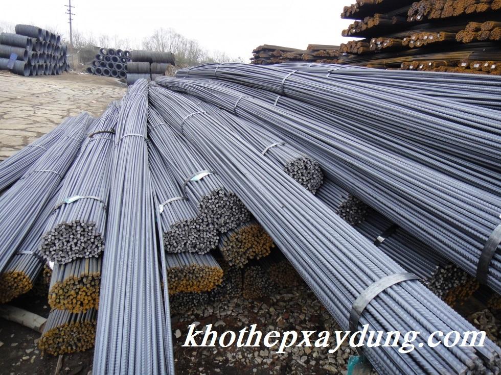 Thép từ tổng công ty kho thép xây dựng được đưa tới công trình