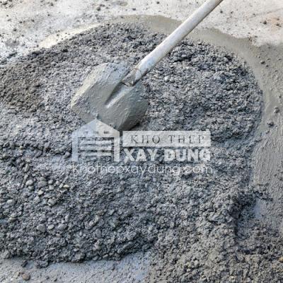 Bê tông là hỗn hợp các nguyên liệu cát đá, xi măng và nước