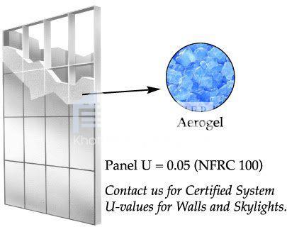 Aerogel là một vật liệu cách điện tốt và rất nhẹ