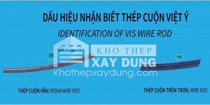 Ký hiệu thép cuộn Việt Ý