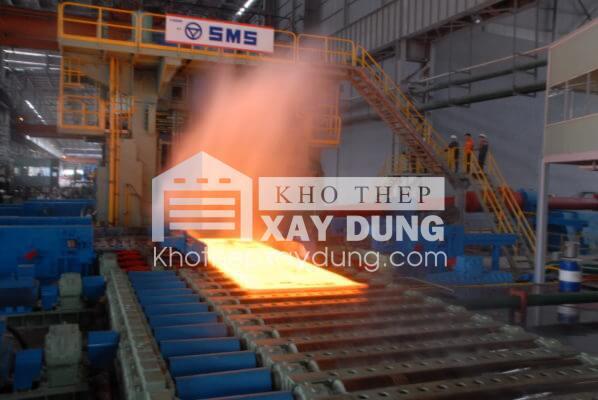 Sản xuất thép tấm
