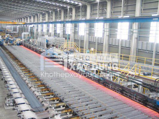 Sản xuất thép Việt Ý