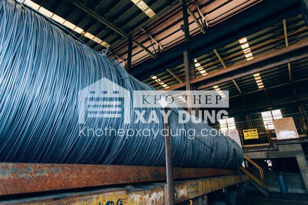 Thép cuộn tròn trơn Việt Ý