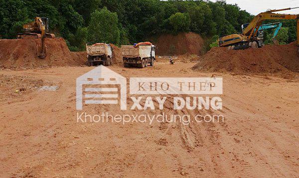 Báo giá cát đá xây dựng tại Vũng Tàu.