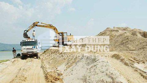 Báo giá cát đá xây dựng tại Bình Phước.